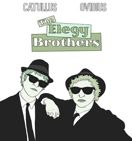 Catullus & Ovidius. The Elegy Brothers