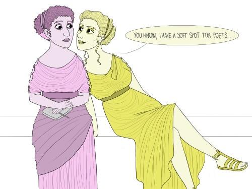 Safo y Clodia