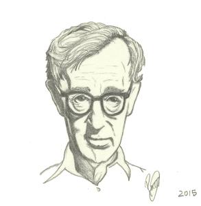 Woody Allen por F. J. Sarró Alonso