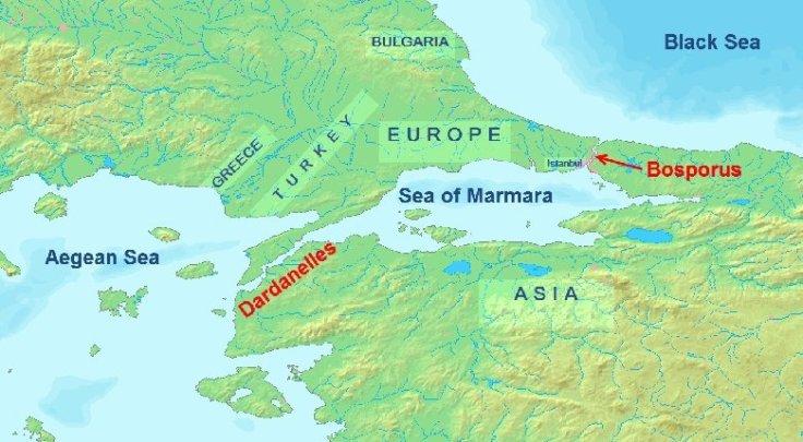 DardanelosMarmaraBosforo