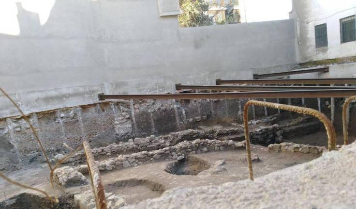 restos romanos bar sebas san pablo_detail