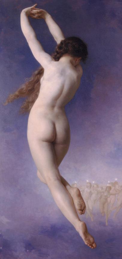 L'Etoile Perdue (La Pléyade Perdida) de William-Adolphe Bouguereau (1884)