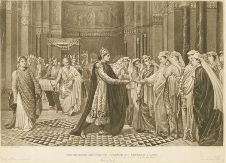 Emperor_Theophilos_chooses_his_wife