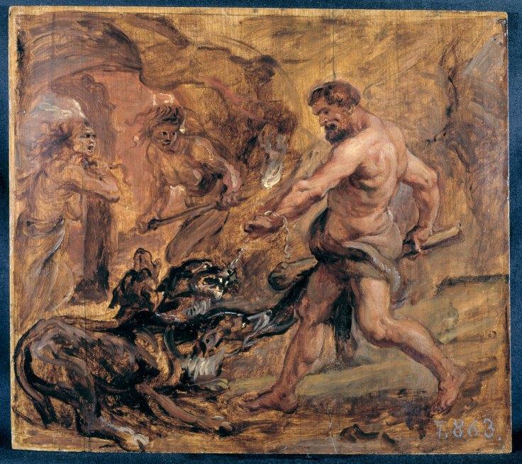 3. Hercules y el cancerbero.jpg